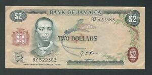 Jamaica - Two (2) Dollars, 1960