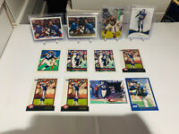 Michael Strahan - Giants - (12) Card Lot W/3 RC Rookie Cards, Immaculate /99