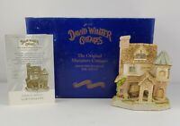 Vintage David Winter Cottages COB'S BAKERY Box COA