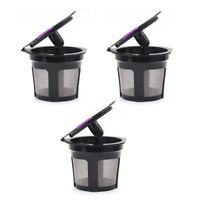 3-Pack K-Cups For Keurig 1.0 & 2.0 Refillable Reusable K-cup Coffee Filter