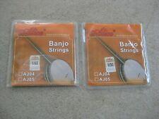 Alice AJ05 Banjo Strings 2 Sets New