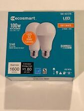 Ecosmart Led Bulbs 100w 2 Pack