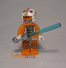 Lego Luke Skywalker Minifigure Pilot from set 75014 Star Wars NEW sw461