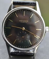 NOMOS Glashutte Orion d-35mm ETA (Peseux) 7001 Mechanical Stainless Steel Watch