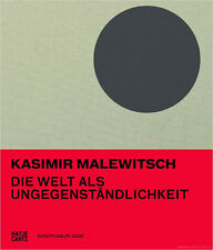 Fachbuch Kasimir Malewitsch, Welt als Ungegenständlichkeit, Bauhaus, NEU, OVP