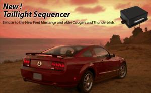 Tail Light Sequencer Modular Brake Light Sequencer Kit  Ford Mustang