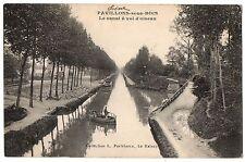 CPA 93 - PAVILLONS SOUS BOIS (Seine Saint Denis) - Le Canal à vol d'Oiseau