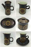 Denby Arabesque Vintage Retro Stone Wear CHOOSE PIECE FROM COFFEE SET. 1 x P&P