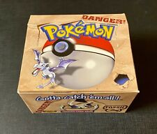 Pokemon Booster Box English Set Base Unlimited VUOTO - EMPTY