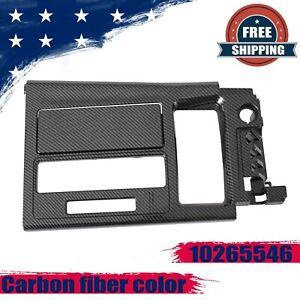 For 1994-1996 Corvette C4 10265546 Automatic Shift Plate Console Carbon fiber