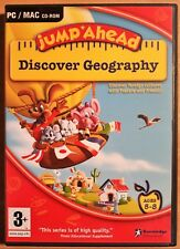 JUMP AHEAD DISCOVER GEOGRAPHY CHILDREN'S EDUCATIONAL PC CD-ROM brand new UK