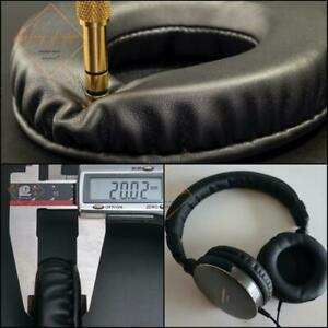 Soft Leather EarPads Foam Cushion EarMuff For Audio-Technica ATH-ES700 Headphone