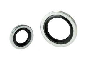 Dowty Washer/Bonded Seals Metric/Imperial Nitrile/Viton Mild/Stainless Steel BSP