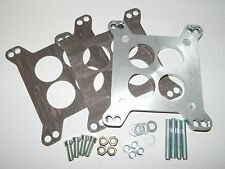 NEW Carter Rochester 4 Barrel to Holley Carburetor Adapter w/ Hardware & Gaskets