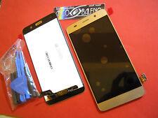 PRO1 DISPLAY LCD+ TOUCH SCREEN PER HUAWEI ASCEND Y6 ORO GOLD +ATTTREZZI VETRO 5C