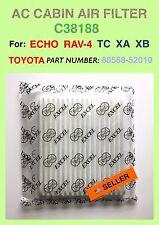 SCION TC XA XB TOYOTA Rav-4 Echo AC CABIN AIR FILTER OEM PREMIUM QUALITY C38188