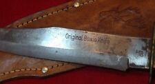 ANTIQUE GERMAN HUNTING KNIFE Original Bowie Knife SOLINGEN (ORIGINAL SCABBARD)