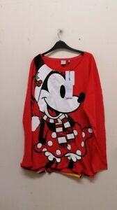 Next Disney red women sweatshirt size 22 EUR 50 {B41}