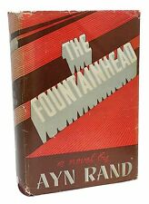 The Fountainhead Signed Ayn Rand 1943 Classic Rare Book