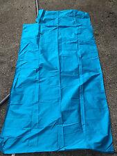 """Thai silk fabric - 100% hand woven Thai silk from  Thailand 1980's 131"""" x 39"""""""