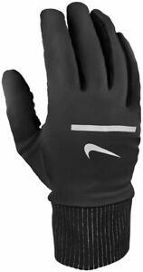 Nike Men Sphere Running Gloves S M XL Black Athletic Sports Lightweight N0003798
