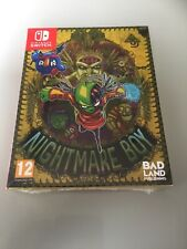Nintendo Switch Nightmare Boy Rare Special Edition New And Sealed