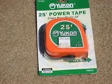 25 ft. x 1 inch power tape  with heavy duty ABS body & belt clip