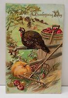 Thanksgiving Greeting Tuck Series no.185 Postcard B14