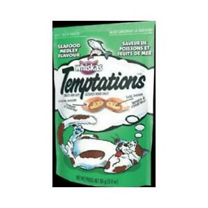 Temptations Cat Treats, Seafood Medley, 3-oz.