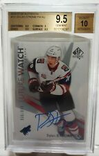 16-17 SP Authentic Dylan Strome /999 Auto Rookie BGS 9.5 GEM Future Watch 2016