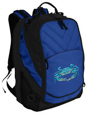 Unique BLUE CRABS Backpack Laptop Bags Computer Backpacks