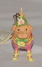 "Patience Brewster Krinkles 3"" Yellow Labrador Lending Light Mini Ornament"