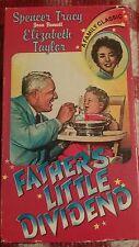 Fathers Little Dividend (VHS, 1951) Elizabeth Taylor Spencer Tracy