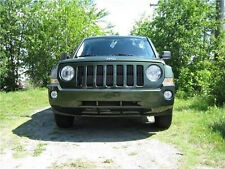 2007 2008 2009 2010 Jeep Patriot White Halo Fog Lamps Angel Eye Driving Lights