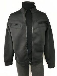 Men Hause Of Howe Jacket Case Study zip front Black Size Medium