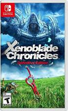 Xenoblade Chronicles: Definitive Edition - Nintendo Switch (NEW)