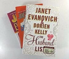 Lot (3) JANET EVANOVICH Hardcover: Lean Mean Thirteen; Motor Mouth; Husband List