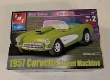 AMT Ertl 1957 Chevrolet Corvette Street Machine Model Kit 1:25 NIB factory seal