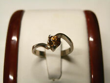Natural Zircon in  a sterling silver ring....2.3 grams