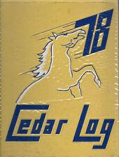 Cedar Cliff High School Yearbook 1978 Camp Hill, PA (Cedar Log)