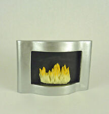 Dollhouse Miniature Houseworks Resin Ultra Modern Fireplace. HW4018