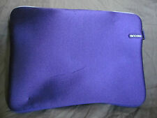 "Genuine InCase Laptop Sleeve Case for Apple Mac 13"" Laptop Plum Purple & White"