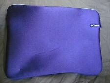 "Genuine InCase Laptop Sleeve Case for Apple Mac 13"" Laptop Plum Purple & White"