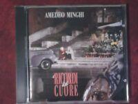 MINGHI AMEDEO- I RICORDI DEL  CUORE (FONIT, 1992). CD.