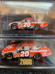 2008 Winners Circle #20 Tony Stewart 1:64 Home Depot Die Cast + bonus car