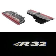 2X R32 Led Light Door Welcome Projector For GOLF MK5 MK6 MK7 R LINE ULTRA BRIGHT