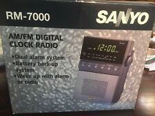 VTG SANYO DIGITAL CLOCK- RADIO