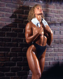 CORY EVERSON - 6-time Ms. Olympia - 8x10 PHOTO
