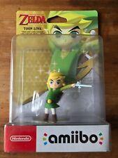 Toon Link Amiibo Nintendo SWITCH LEGEND OF ZELDA BREATH OF THE WILD WIND WAKER