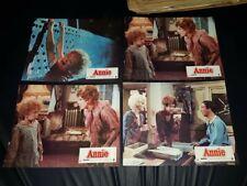lot de 16 photos d'exploitation de cinéma du film: ANNIE de 1982